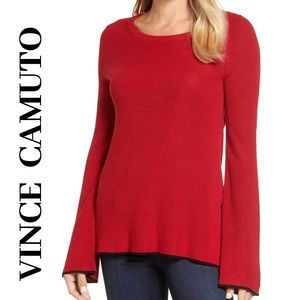 🔥 VINCE CAMUTO Bell Sleeve Sweater